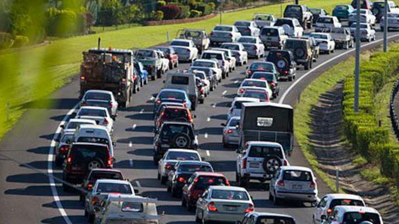 The Caboolture West development could add tens of thousands of motorists to the Bruce Highway. Picture: Department of Transport and Main Roads.