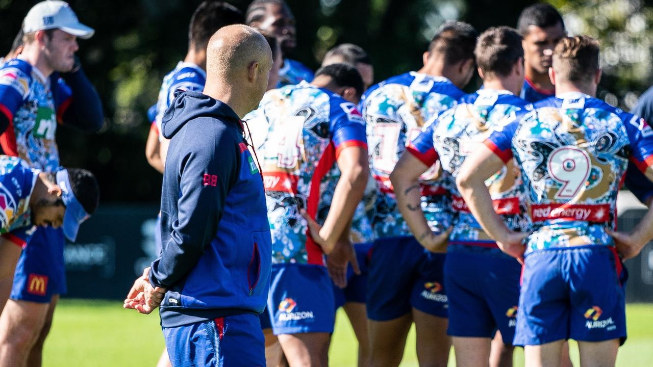 The players have given the coach and club no choice. Photo: Knights