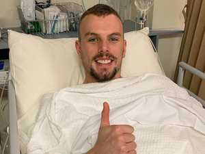 Third heart surgery for Olympic swim champ