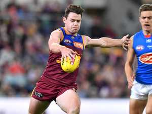 Lion Lachie laughs off Brownlow talk