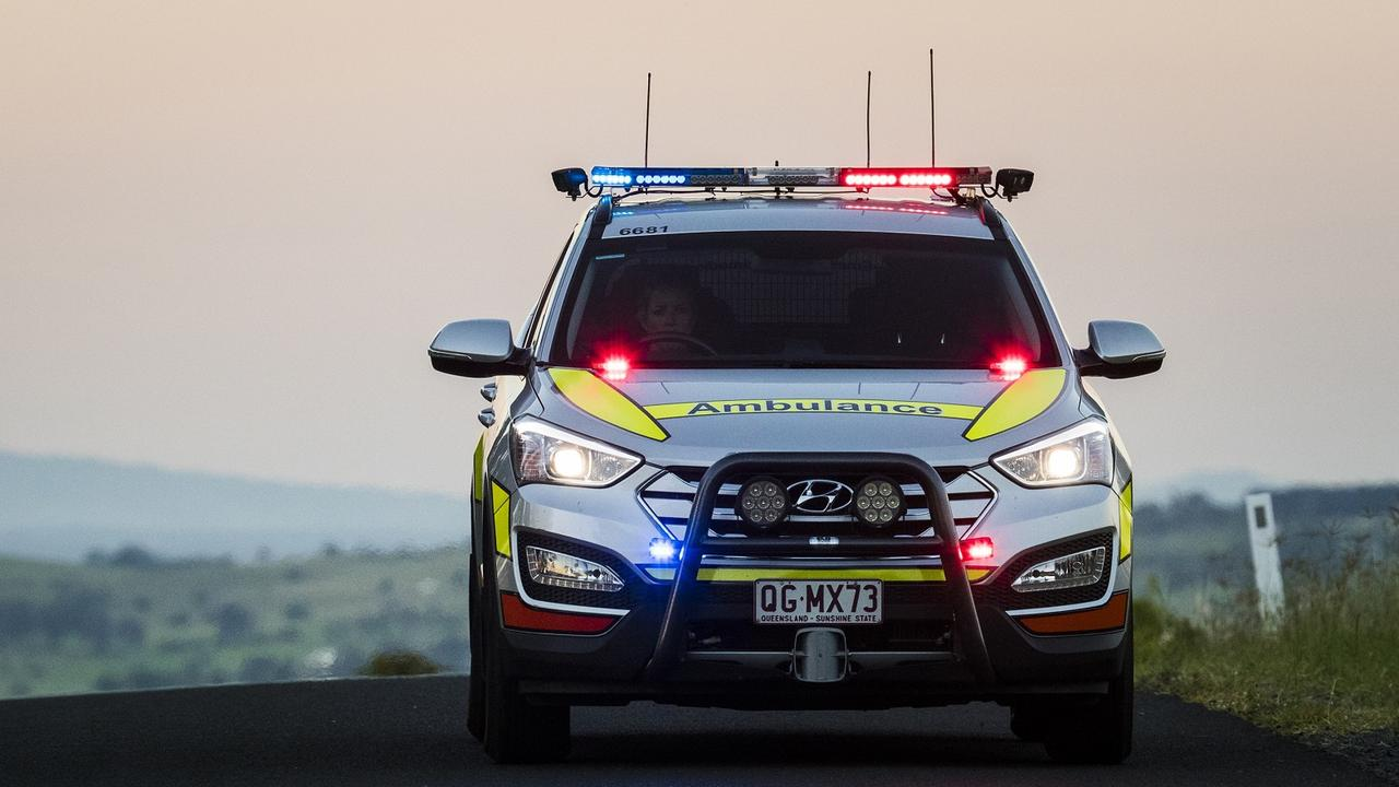 A man in his 30s is in a critical condition following a single vehicle crash in the Southern Downs region. Picture: Generic.