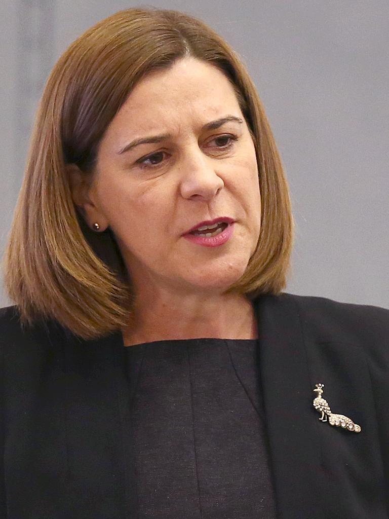 Opposition Leader Deb Frecklington.