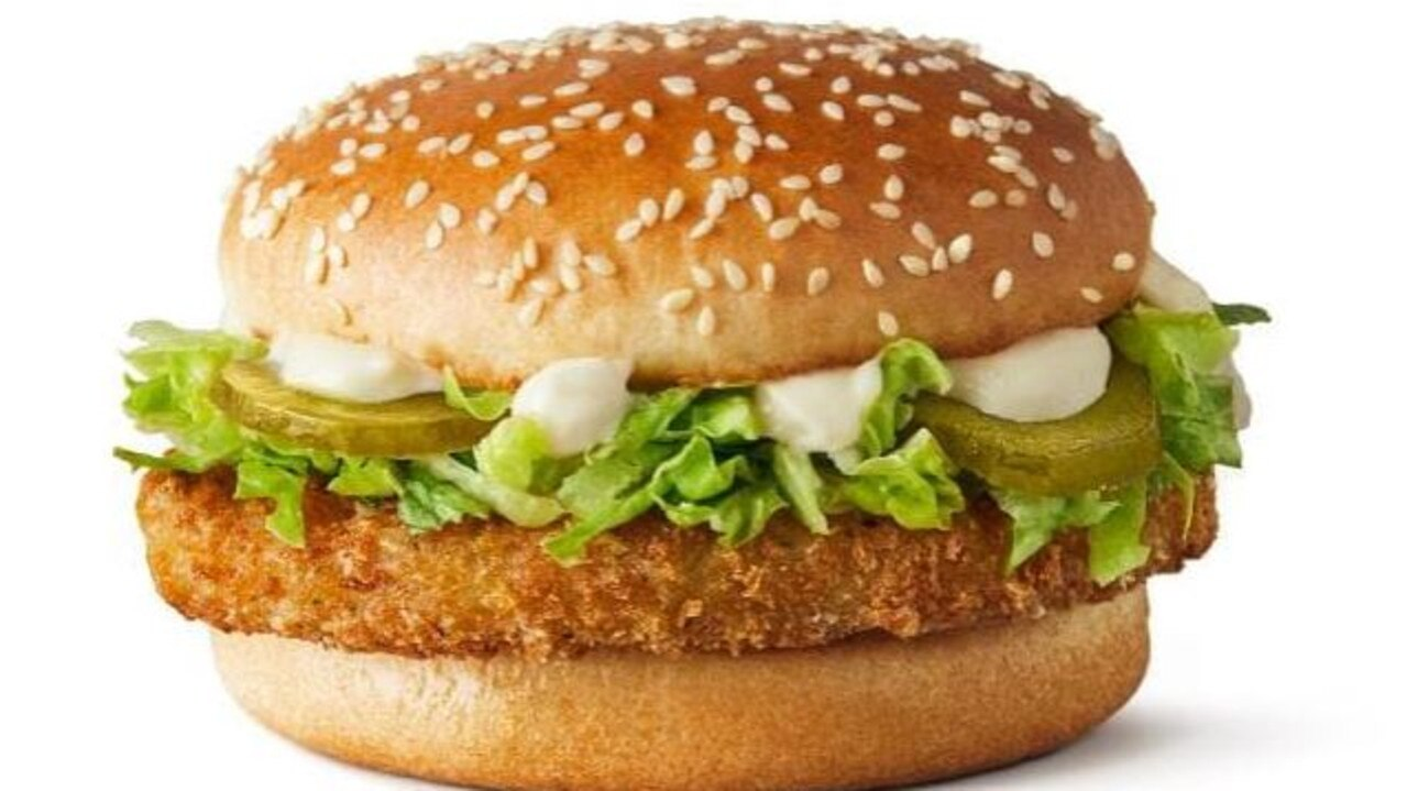In May, Macca's trialled an all-new burger in South Australia. Source: Supplied