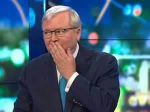 Rudd curses Trump over China stance