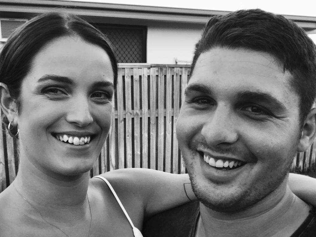 """Lance Corporal Corey Delangen died suddenly on August 15. His partner Holly Sperring will remember him for his """"gorgeous smile""""."""