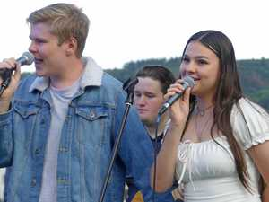Dream becomes reality for teenage international Bay singers