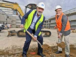Workers on site as major CBD redevelopment work begins