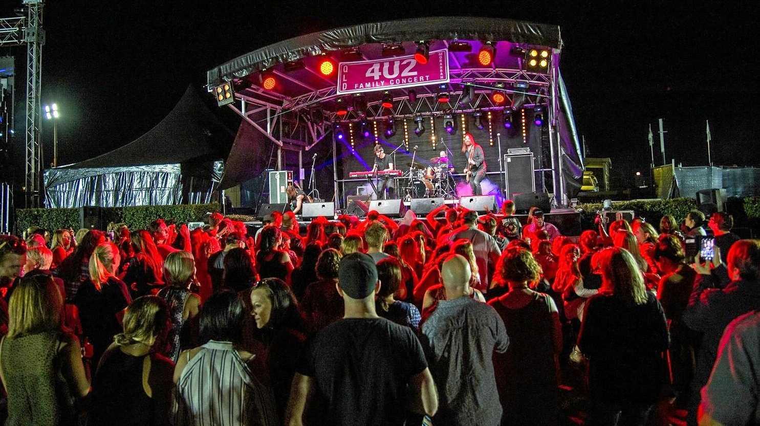 A host of headline Australian acts will perform in Moranbah at the annual 4U2 Family Concert.