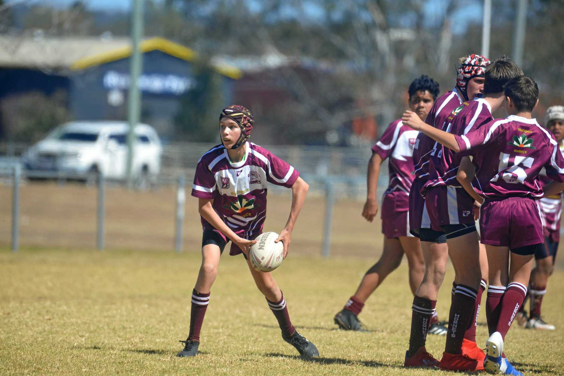 Halfback Josh Benz shows his style for Eastern Suburbs.