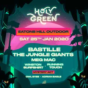 Holy Green is a diverse Aussie music & arts festival  with a local and international lineup including Bastille, The Jungle Giants, Meg Mac & more.