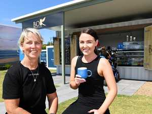 First cafe opens at new beachside community