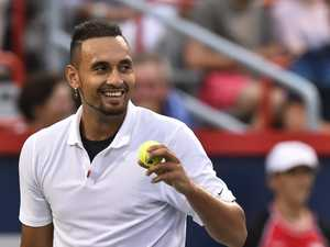 Kyrgios laughing after wild US Open upset