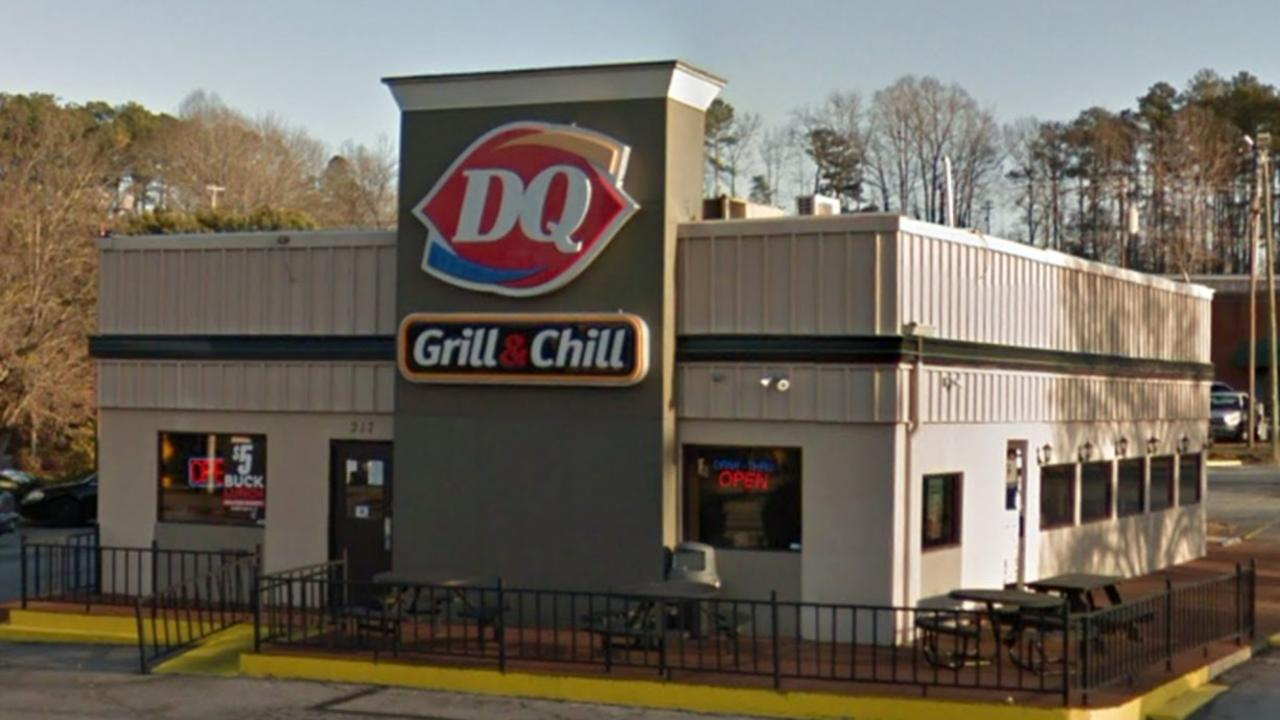Dairy Queen in Greenwood, South Carolina. Picture: Google Maps