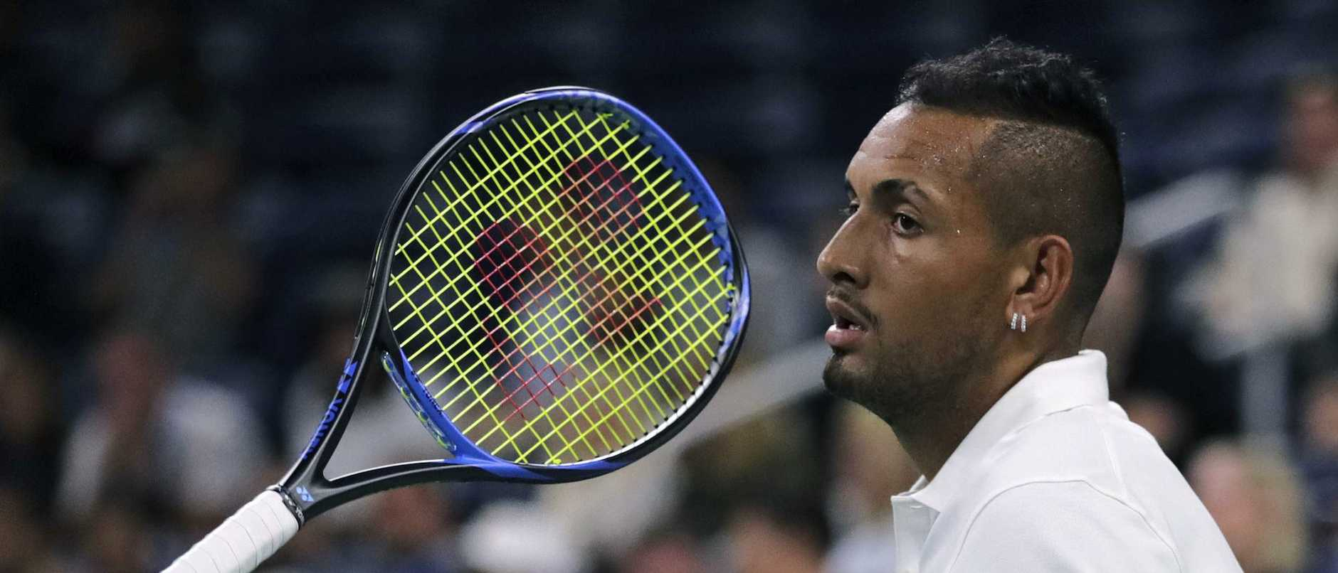 Kyrgios is yet to learn his fate.
