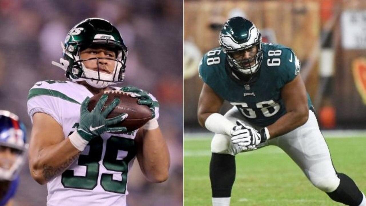 Valentine Holmes will likely face Jordan Mailata.