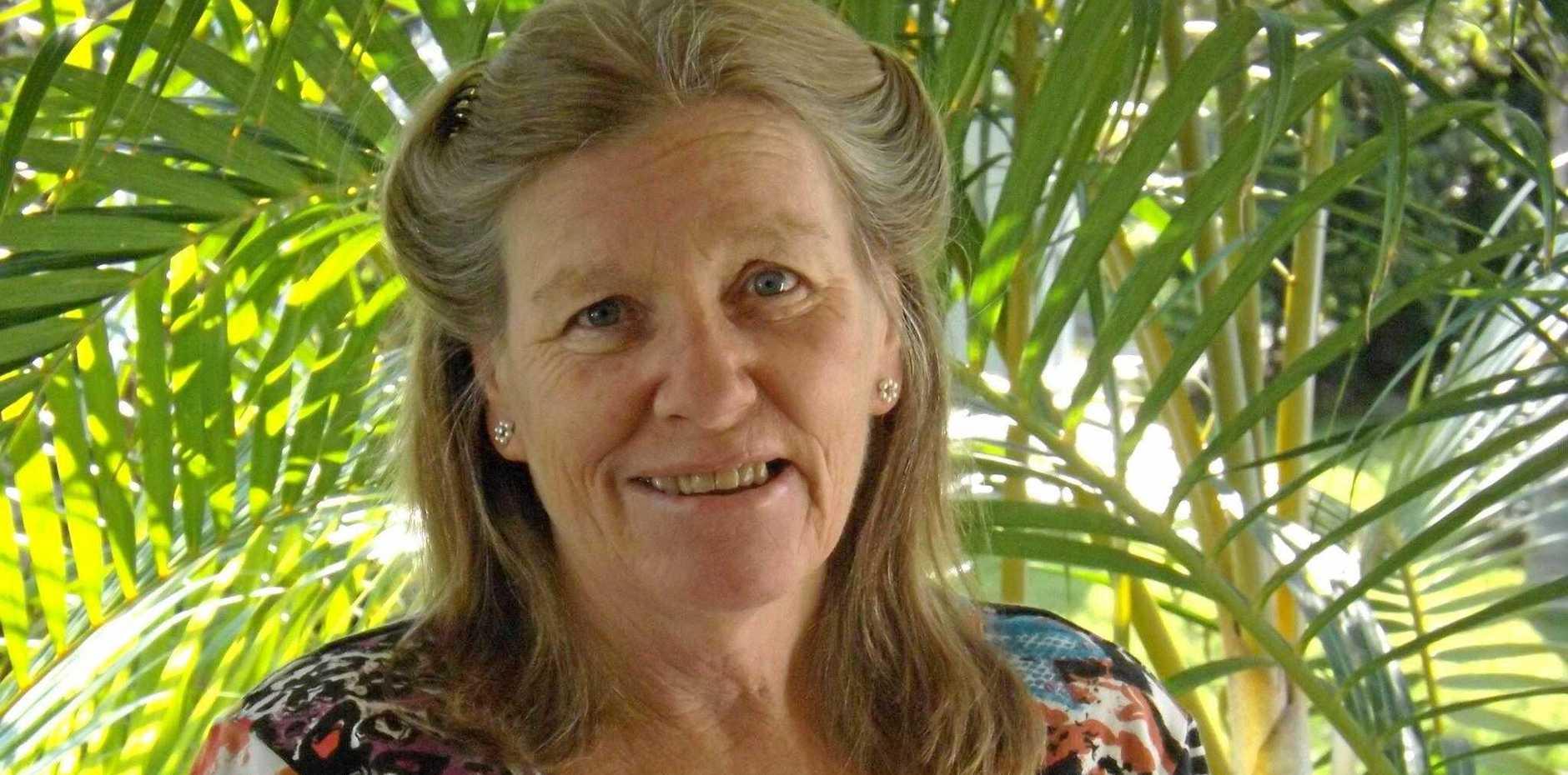 Suncare volunteer Sally Dickinson
