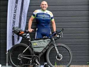 Cyclist's endurance put to the test