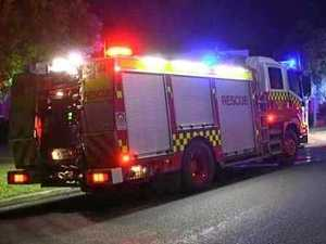 Young man hospitalised after fiery Gympie region car crash