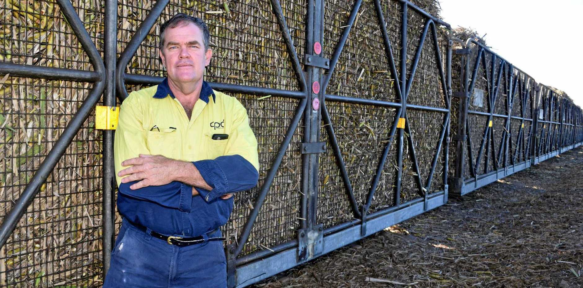 Third-generation farmer Peter Faust.