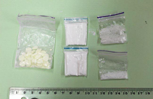 contraband seized during raids
