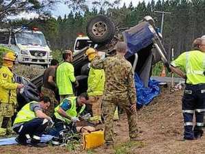 Forestry contractors survive horror Gympie crash