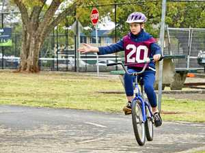 Program teaches kids road rules and re-cycles message