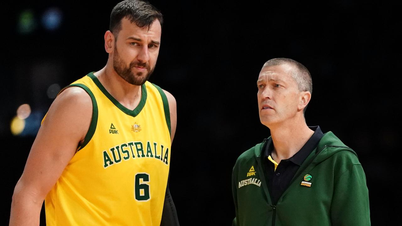 Andrej Lemanis will be hoping Andrew Bogut can suit up against Canada.