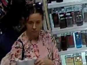 Sneaky way woman allegedly hid stolen perfume
