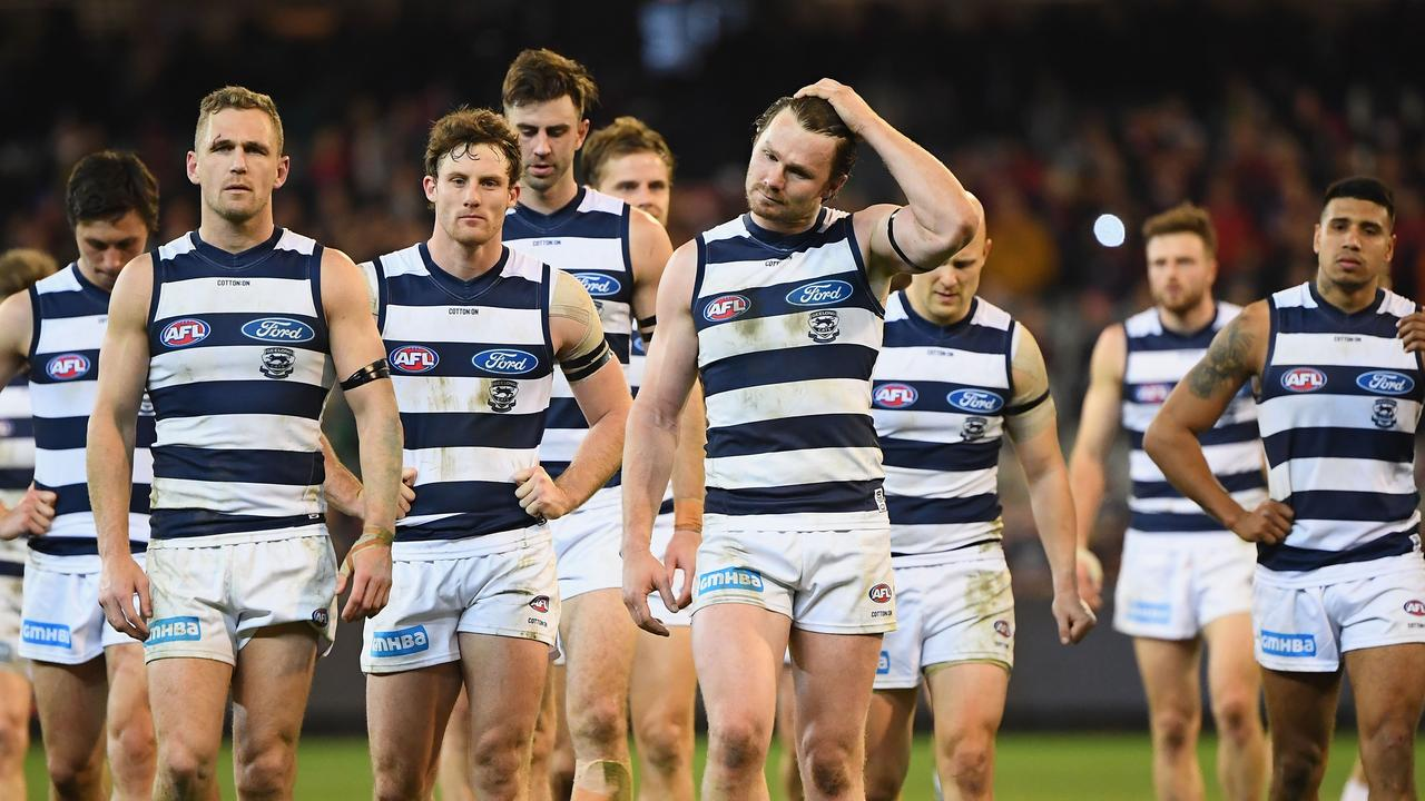 The Cats' slow starts have been costly in recent finals. Pic: Getty Images
