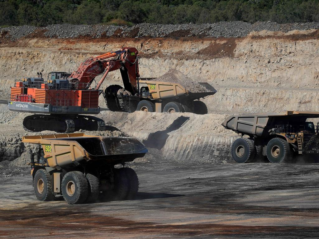 Workers at the New Acland Coal Mine near Oakey are worried for their future. Picture: Adam Head