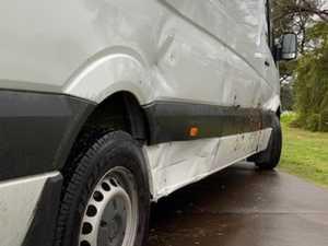 Courier business takes hit after stolen car crash