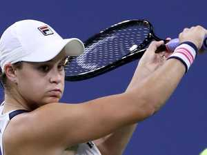 Barty survives Open fright to advance