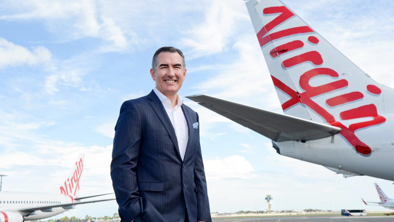 Paul Scurrah, Virgin Australia's new CEO, announced he will be sacking 750 employees off the back of 'disappointing' full-year results. Picture: Jeremy Piper