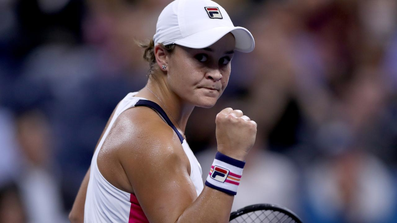 Ashleigh Barty is through to the doubles final at the US Open.