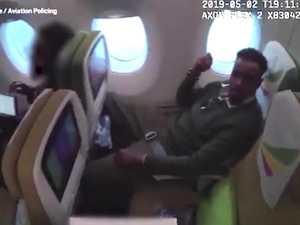 Child rapist's plane seat surprise