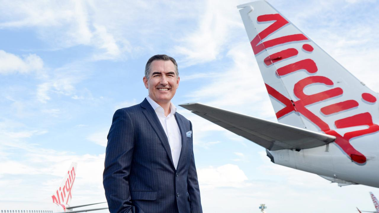 Paul Scurrah, Virgin Australia's new CEO, came in to the role in March. Picture: Jeremy Piper