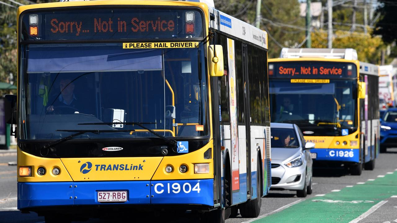 The Rail, Tram and Bus union wants more security on the 100 bus route. Picture: AAP /Darren England)