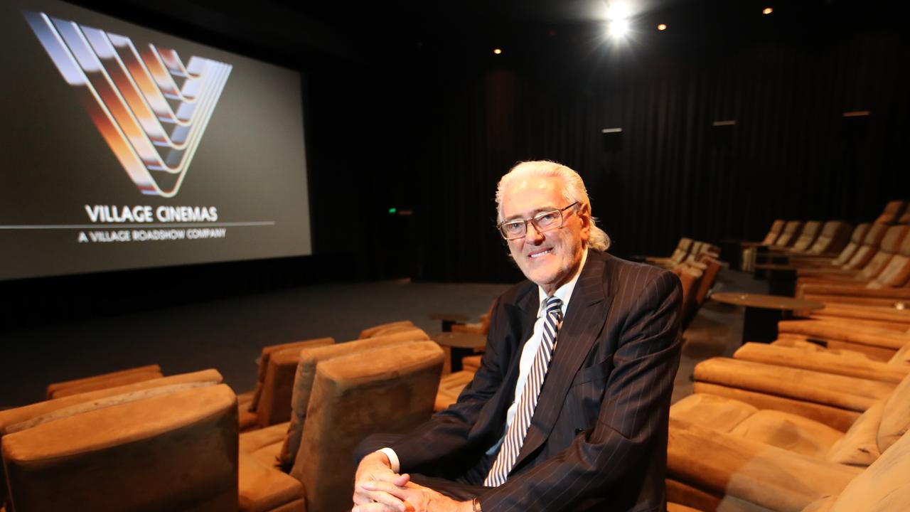 Village Roadshow chief executive Graham Burke at the Jam Factory cinemas in South Yarra. Picture: David Geraghty / The Australian.