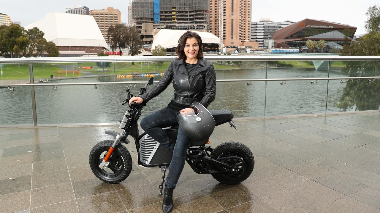 Fonzarelli founder Michelle Nazzari said she was in talks with three companies in Adelaide about manufacturing the bikes. Picture: Tait Schmaal