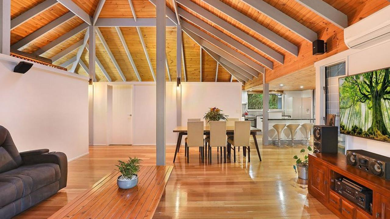 Inside the house the Veronicas have bought in Landsborough.