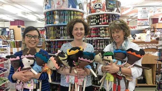 Handmade dolls inspiring change across Australia