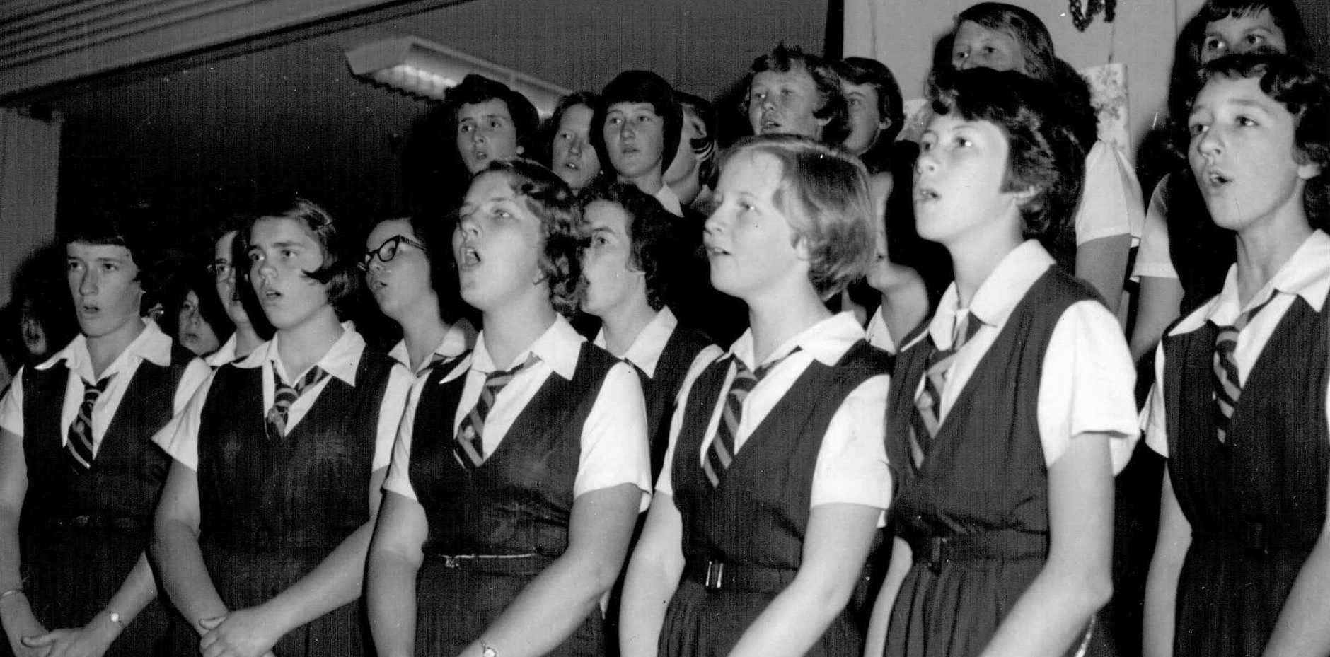REUNION: Domestic Science High School Choir 1960. All former students are welcome to attend.