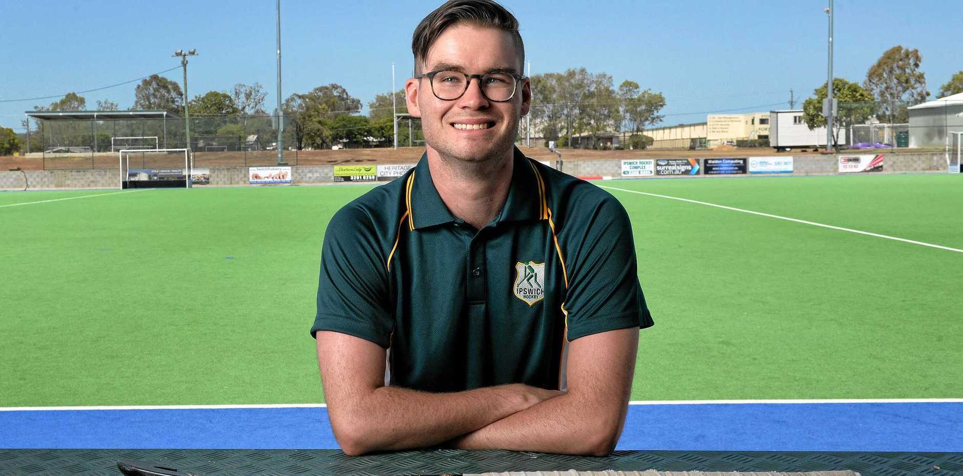 ALL-ROUND FOCUS: Ipswich Hockey regional coaching director Hugh Hocking is pleased to see people being honoured for their on-field and community achievements.