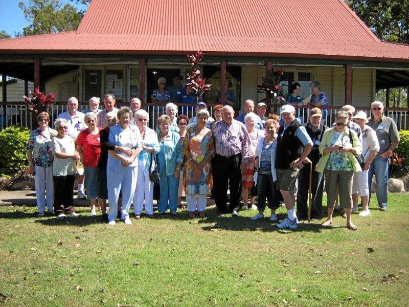 MEMORIES: Mackay Intermediate School class of 1948-1949 at a recent reunion.