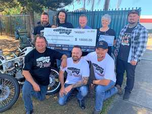 The Harley enthusiasts making a difference in Mackay