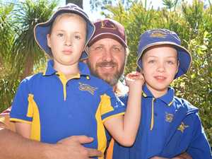 Dads dive into golf for early Fathers' Day celebration