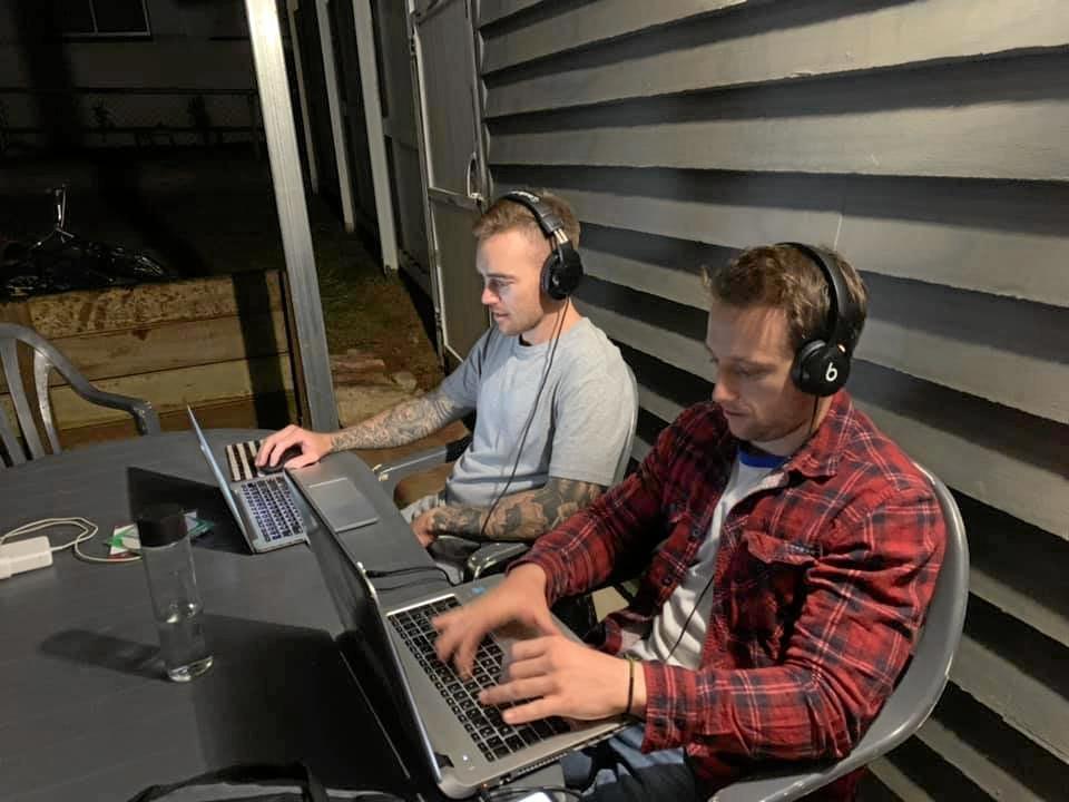Beenham Valley Road hosts Jamie Pultz and Tom Daunt.