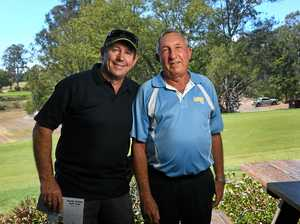Mates tee off for a pretty sweet cause