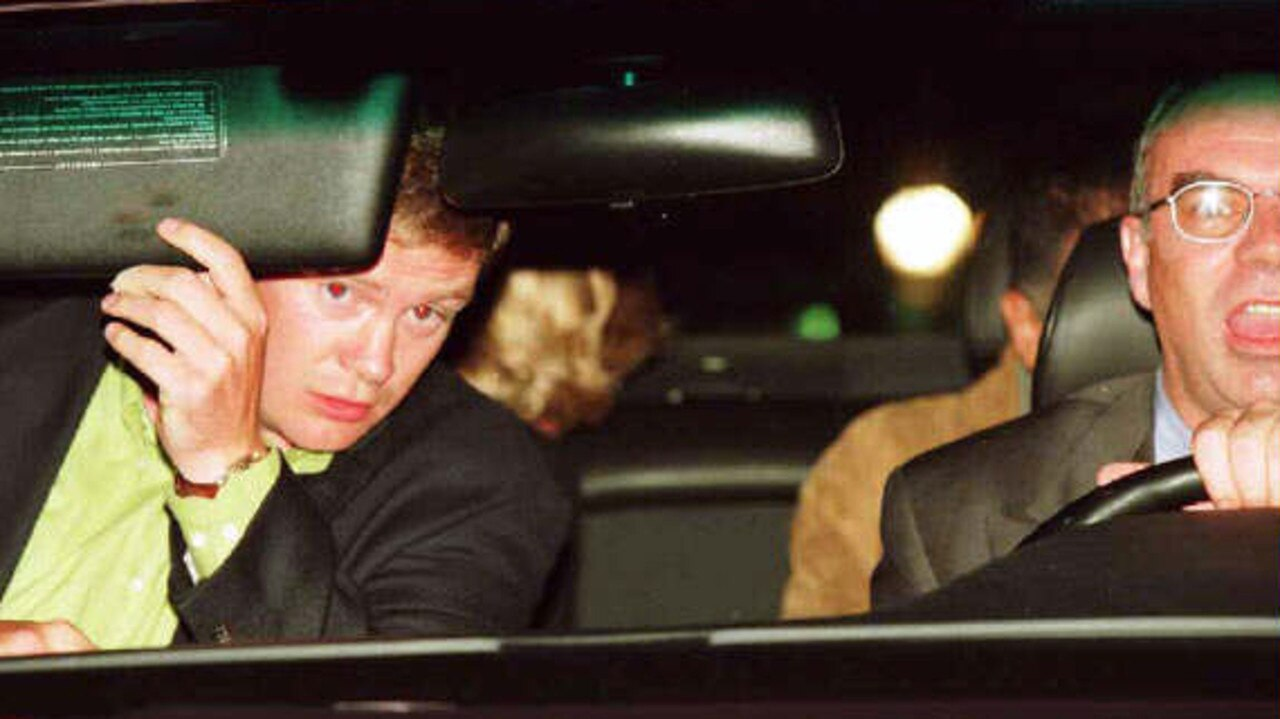 Mr Rees insisted on travelling in the vehicle with Diana, Dodi and driver Henri Paul. These images of Diana's blonde bob, peeking out the car rear window, are some of the last that were taken before her death.