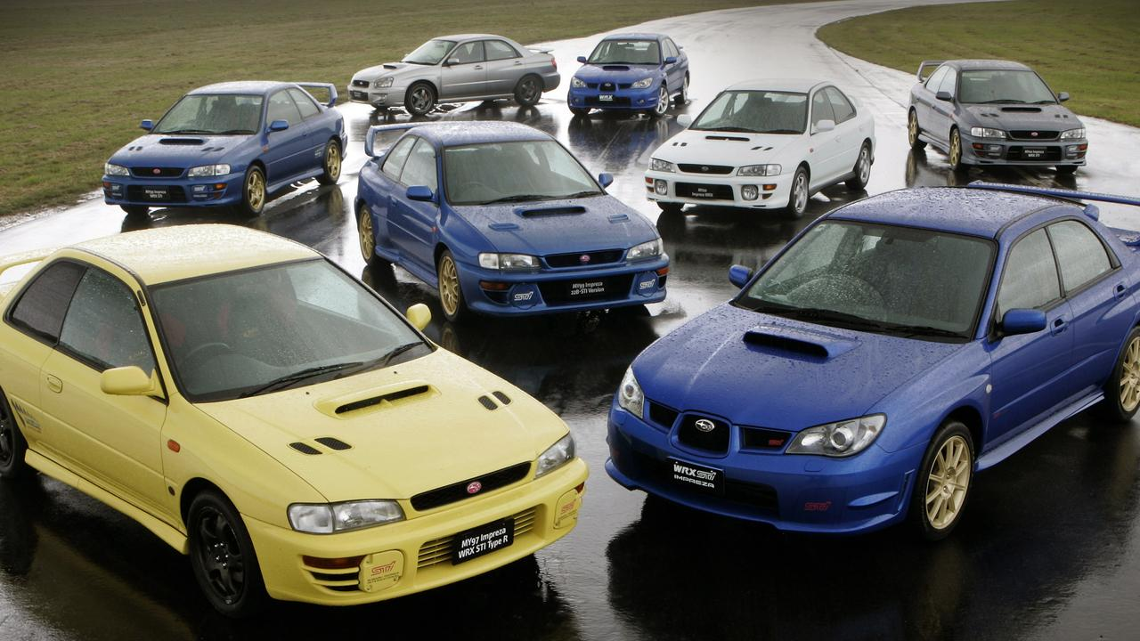 The Subaru Impreza WRX is a favourite of younger drivers.